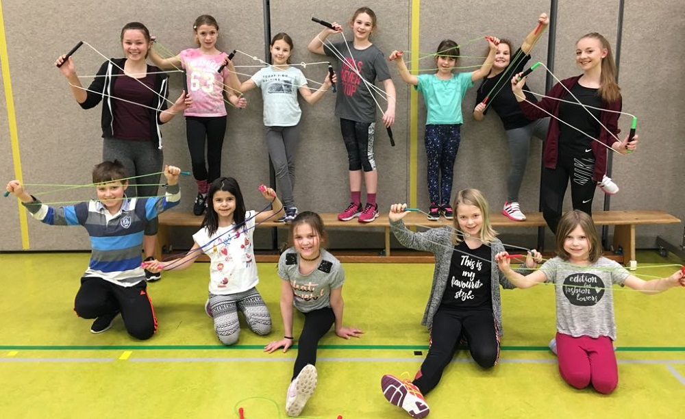 Rope Skipping Hessenmeisterschaften in Haiger